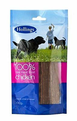 Hollings Real Meat Treat Chicken For Dogs 100g (Pack of 12)