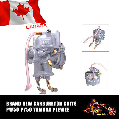 NEW Carburetor with Air Filter for Yamaha PW50 PY50 Peewee 50 Pit Dirt Bike