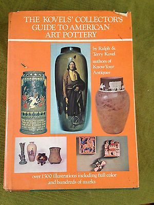 The Kovels' Collector's guide to American Art Pottery HC BOOK 1974