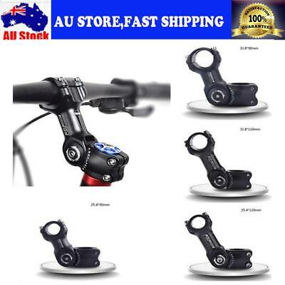 Aluminium MTB Road Bike Bicycle Adjustable Angle Stem Riser 25.4mm 31.8mm AUSHIP