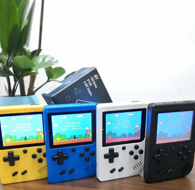 HANDHELD GAME CONSOLE Mini Retro Video Game Player Rechargeable with