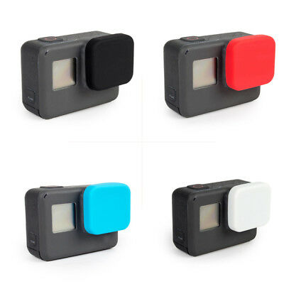 Gopro accessories silicone Lens protective cover cap for Gopro Hero 7 6 5 Black