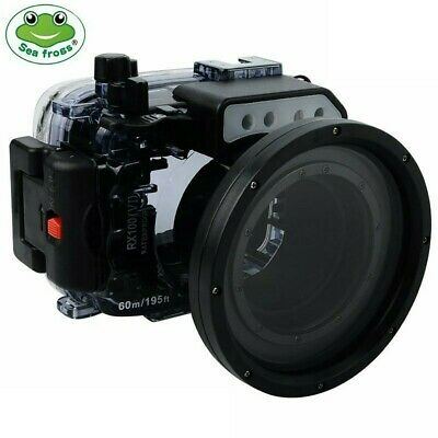 Seafrogs 60m/195ft Underwater Camera Diving Housing for Sony RX100 VI Mark 6