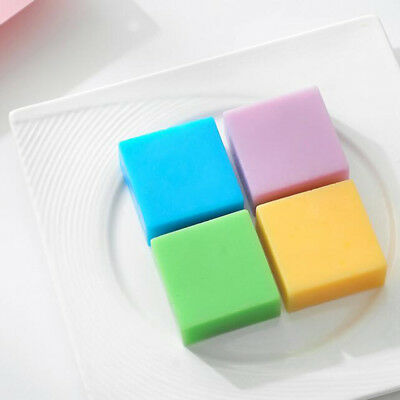 6 Cavity plain basic rectangle silicone mould for homemade craft soap mold Gv