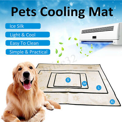 New Pet Cooling Mat Non-Toxic Cool Gel Pad Cooling Pet Bed Summer Dog Cat Puppy