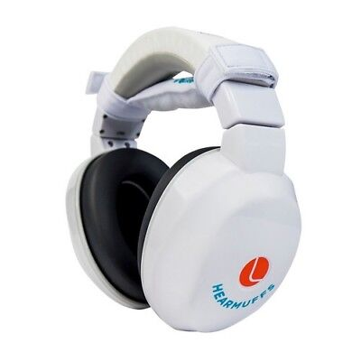 Lucid Audio LU-INFANT-PM-WH HearMuffs Infant White Safety Protection Earmuff