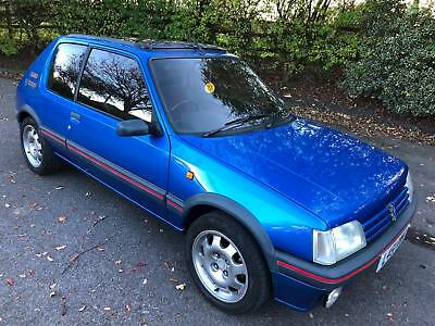 1993 L Peugeot 205 GTi 1.9 Miami blue LOW MILES £8995 Factory Sunroof