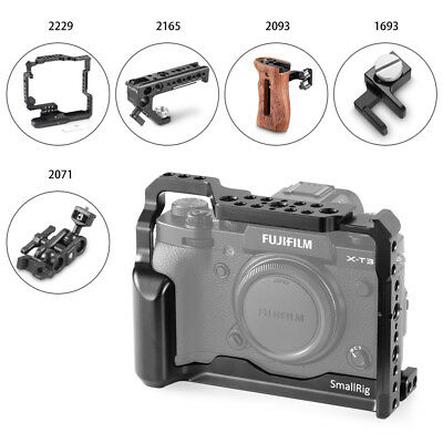 SmallRig Cage/Handle Grip for Fujifilm X-T3 Camera for X-T3 with Battery Grip