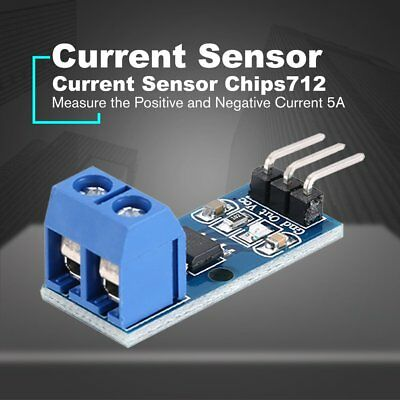 Hall Current Sensor Module Mode Board ACS712 5A Hall Effect Model for Arduin DK