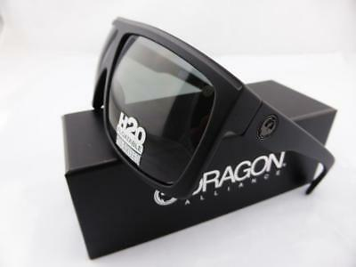 Dragon FAME Sunglasses Matte Black H2O Floatable - Grey P2 Polarised Lens