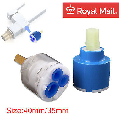 Plastic Ceramic Disc Cartridge Tap Replacement Valve 35mm 40mm Lever Mixer Tap