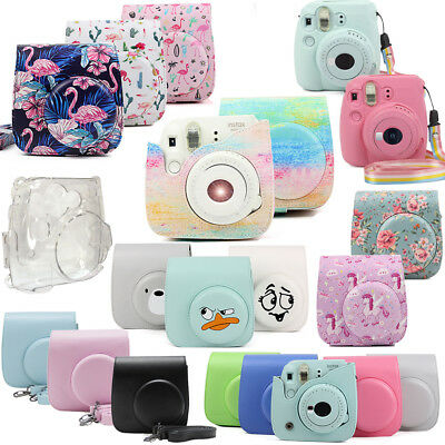 For Fujifilm Instax Mini 8 9 Instant Polaroid Camera Cover Protect Bag Case UK