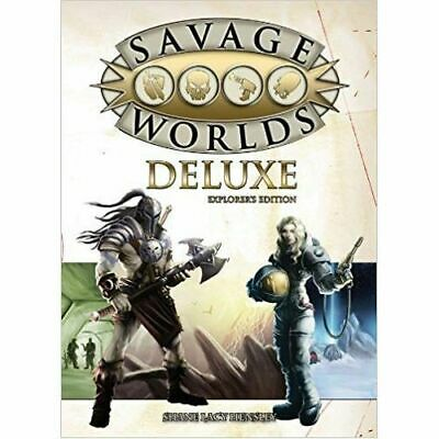 Explorers Edition: Savage Worlds Deluxe - Brand New & Sealed