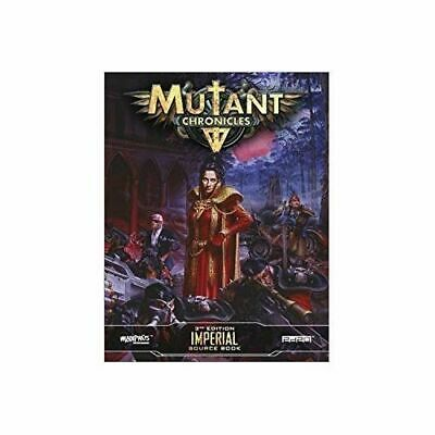 Imperial Source Book: Mutant Chronicles Supplement - Brand New & Sealed
