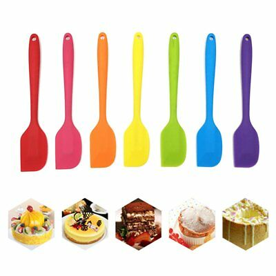 LUCKSTAR 1 11 7pcs Cooking Silicone Set Heat-Resistant Non-Stick Rubber Spatulas