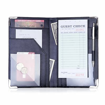 Sonic Server Book and Waiter Waitress Organizer for Waitstaff | Inner Color