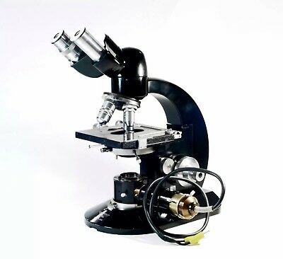 Reichert Austria Biozet Microscope with Vertical Phototube and Box - Mikroskop