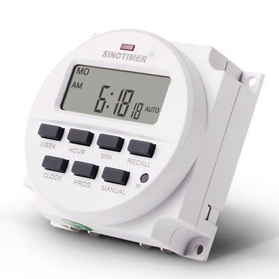SINOTIMER TM618N-3 24V Programmable Timer Switch with Countdown Time Function DK