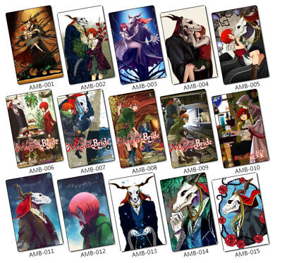 35pcs Glossy Sticker The Ancient Magus Bride Characters Mahou Ainsworth