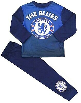 Boys Chelsea Football Club Pyjamas Premier League CFC Official 2 upto 12 Years