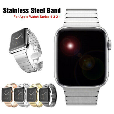 40/44mm Stainless Steel Link Band iWatch Strap Bracelet for Apple Watch 4 3 2 1