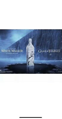 Johnnie Walker The White Walker Special Edition **Extremely Rare** GOT