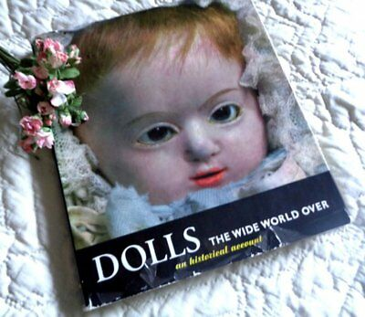 Vintage Antique Dolls Book Historical Reference Collector's Illustrated Guide