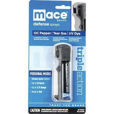 Mace Brand Triple Action Pepper Spray Keychain Flip Top Self Defense Protection