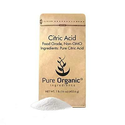 Citric Acid (1 lb. (16 oz.)) by Pure Organic Ingredients, Eco-Friendly