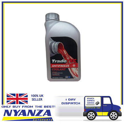 Tradetec Antifreeze Red Coolant Longlife Oat Formulation 5 Year Protection