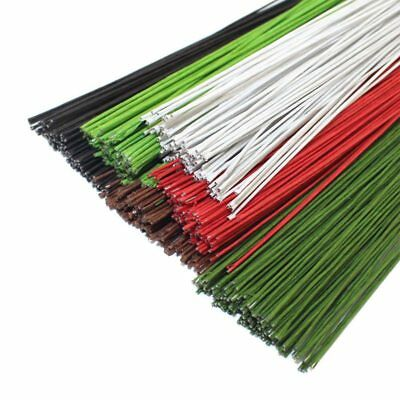 Flowers Wreaths Iron Wire DIY Nylon Flower Making Stocking Multi Color Wires