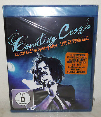 Blu-Ray Counting Crows - August And Everything After - Nuovo New