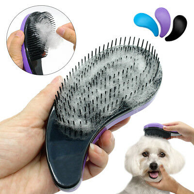 Grooming Detangle Brush for Long Hair Dog Fur Pet Dogs Cats Fur Remover Shedding