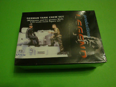 Legend Productions German Tank Crew Set   (Resin Model)