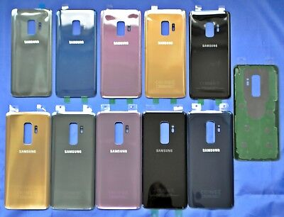 For Samsung Galaxy S9 & S9+ Back Glass Housing Cover Battery Door Replacement