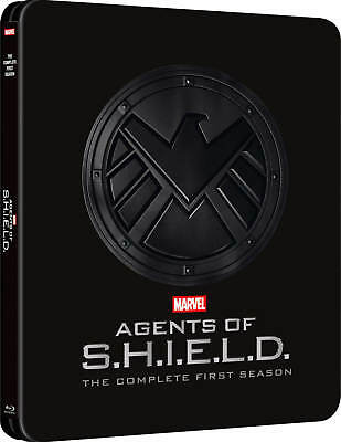 Agents of S.H.I.E.L.D - The First Season Steelbook [Blu-ray] New and Sealed!