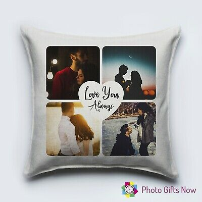 Personalised Luxury LINEN Cushion / Gift/Any Photo/Design/gift/new home/baby