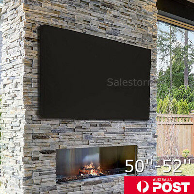 50-52 Inch TV Cover Dustproof Waterproof Outdoor Patio Television Protector Case