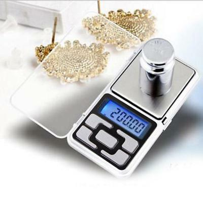 Digital Scale Electronic LCD Display Pocket Balance Weighing Scales  200g*0.1g