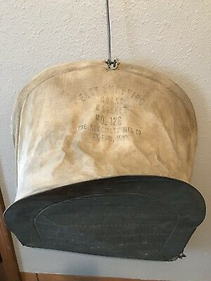 Vintage Grass Catcher No 126 Specialty MFG Co St Paul Minnesota Reel Mower Acces