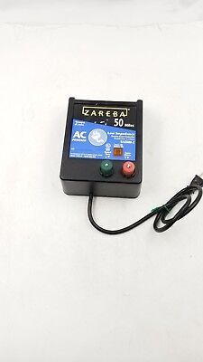ZAREBA EAC50M-Z FENCER 50 Mile AC Low Impedance Fence Charger