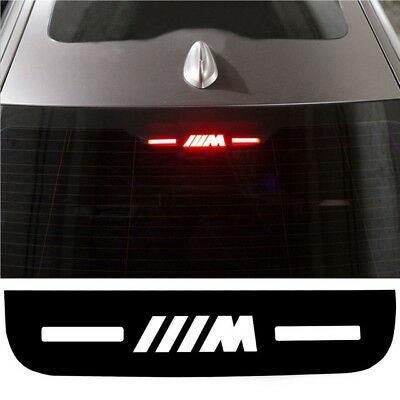 BMW M Sport Power brake Light Sticker - Black - 5 / 7 Series