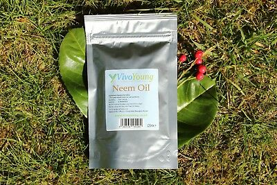 125ml Neem Oil, Pure and Unrefined, Cold Pressed, Packed in UK