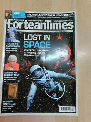 Fortean Times FT233 March 2008 Kittie Klaw talks Parapsychology,Lost in Space