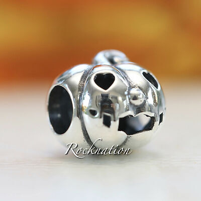 Authentic PANDORA Bead Sterling Silver Sweet Pumpkin 797596 NEW 2018