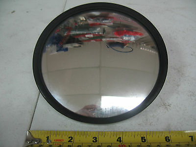 Heavy Duty Commercial Semi Truck Side View Mirror 6 inch Round Excel # EM45470