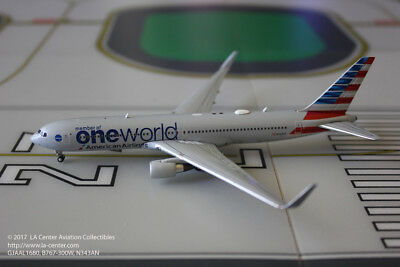 Gemini Jets American Airlines Boeing 767-300ER One World Diecast Model 1:400