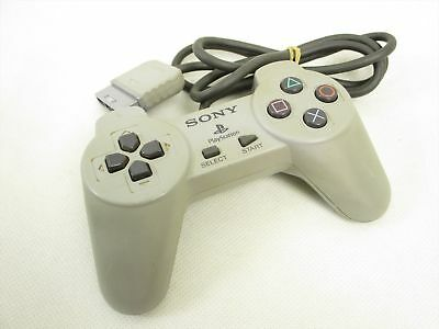 PS1 Controller Gray SCPH-1010 C - Original Sony Playstation 1 Gamepad Joystick