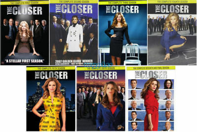 The Closer: The Complete Series Seasons 1-7 (DVD, 28-Disc Set) 1 2 3 4 5 6 7 New