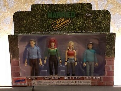 Funko Married with Children Collective Action Figures NYCC 2018 Exclusive New
